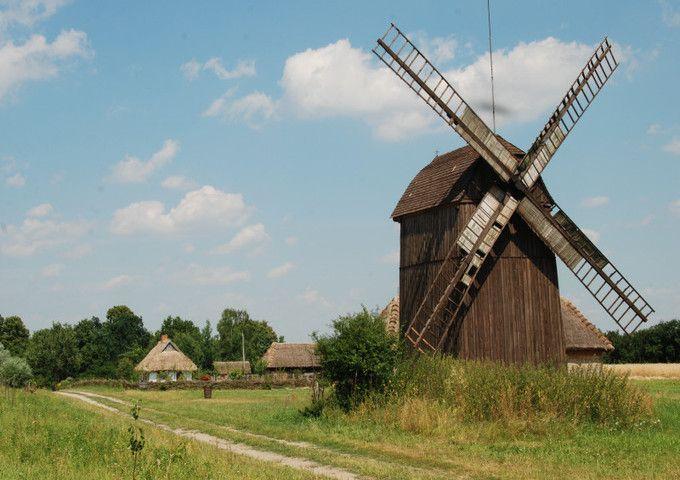 Muzeum Wsi Mazowieckiej w Sierpcu - wiatrak