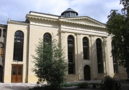 Classicist synagogue building