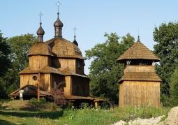 Greek Catholic church from Tarnoszyn