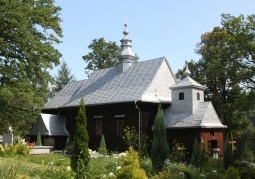 Cerkiew od północnego-zachodu