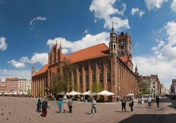 Toruński ratusz staromiejski
