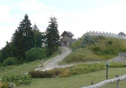 Wieża bramna i wejście