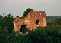 Ściana zamku