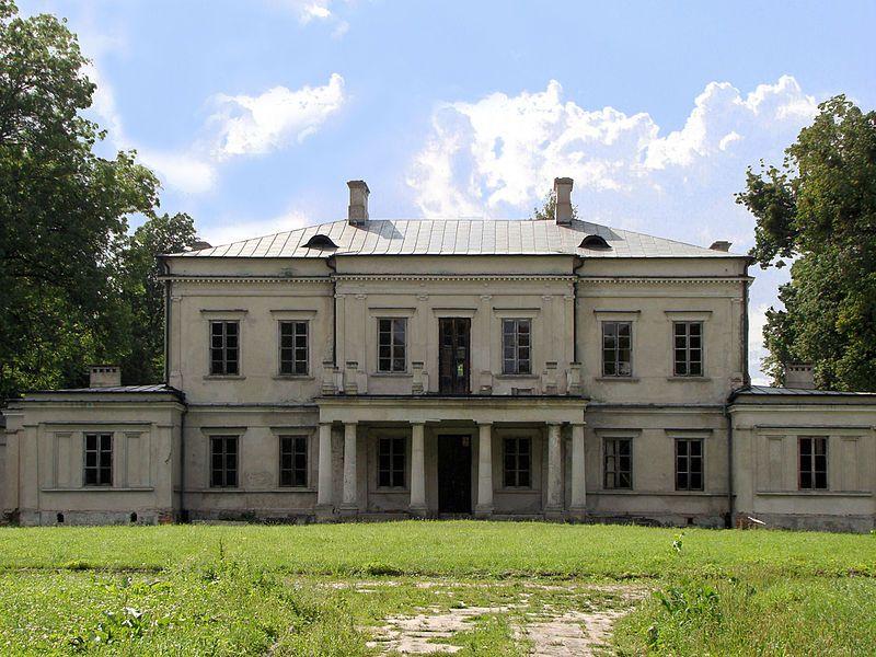 Główny gmach pałacu