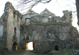 Ruiny zamku Gryf