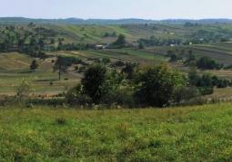 Panorama z Bukowej Góry na południe