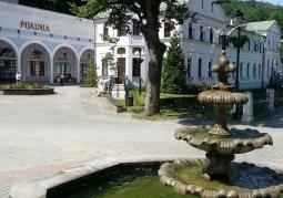 Fontanna w Iwoniczu-Zdroju