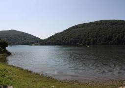 Jezioro Myczkowskie latem