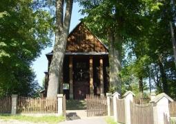 Cerkiew w Czarnej Górnej, widok ogólny