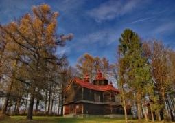 Cerkiew w Moczarach, widok ogólny