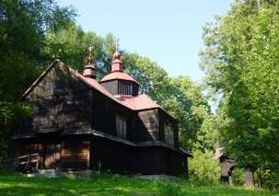 Drewniany gmach cerkwi