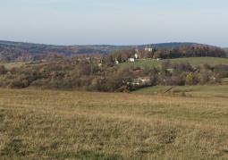 Zdjęcie: Widok na klasztor z Połoninek Kalwaryjskich