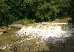 Wodospad na Olszance