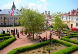 Plac św. Jana - Sanok