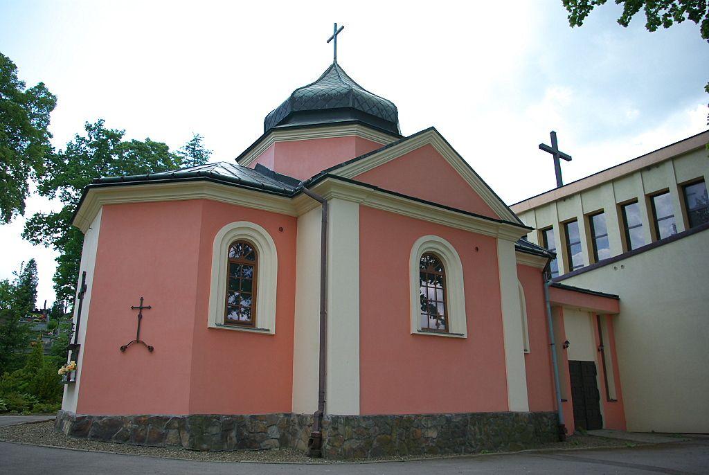 Budynek murowanej cerkwi