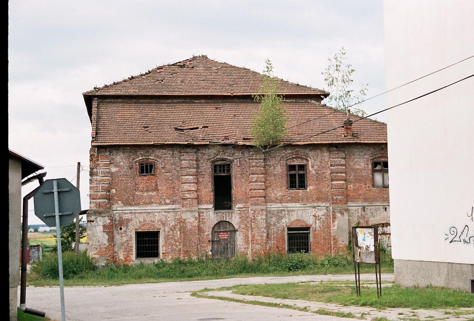 Ruiny Synagogi w Cieszanowie