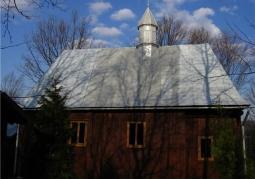Cerkiew, widok boczny