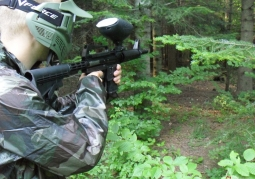 Paintball Forest Shooting Range