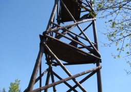 Observation tower on Mount Baranie
