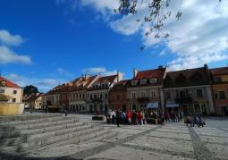 Zdjęcie: Rynek w Sandomierzu