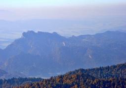 Wieża widokowa na Radziejowej Pieniny