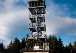 Lookout tower on Wielka Czantoria