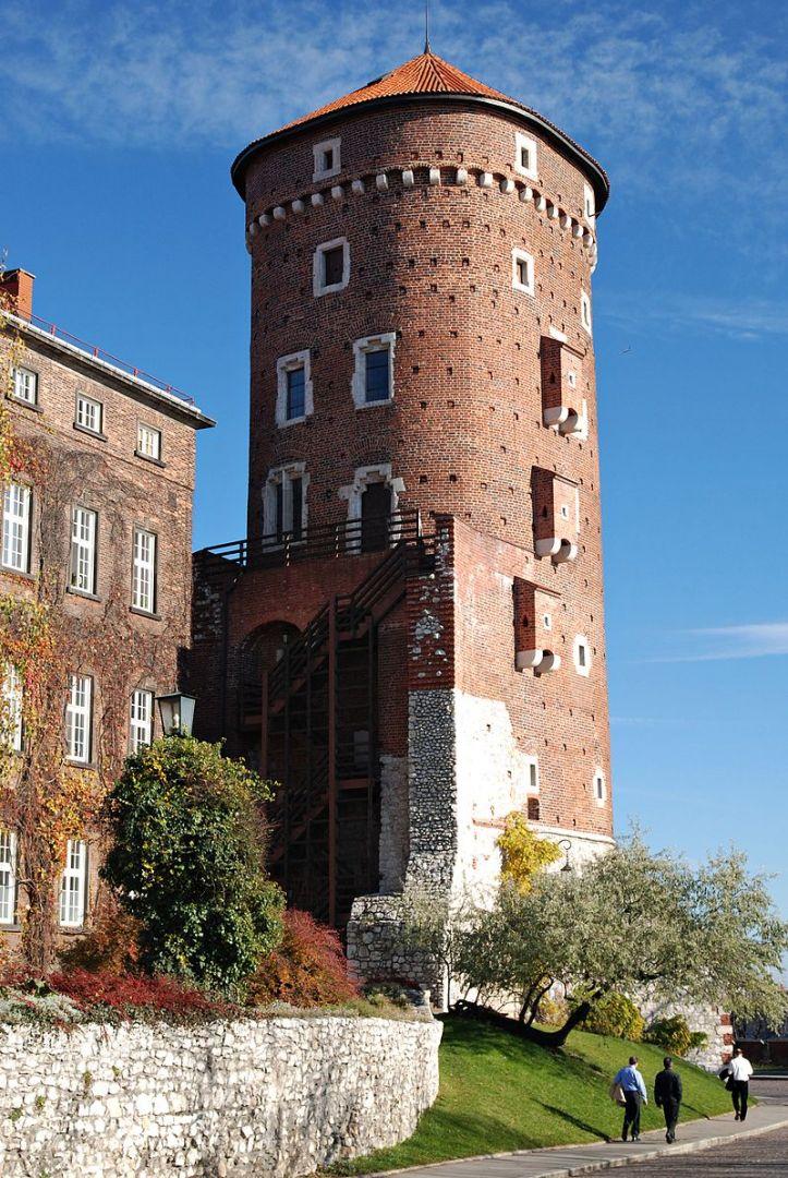 Sandomierz Tower in Wawel
