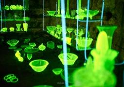 Kopalnia Podgórze szkło uranowe