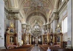Kościół Akademicki Św. Anny wnęrze