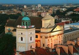 Taras Widokowy na Stare Miasto - Warszawa