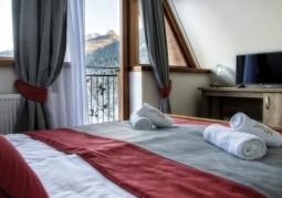 Pokój z widokiem na Giewont - Eco Tatry Hotel