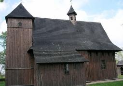 Późnogotycki Kościół Świętej Trójcy - Grębień