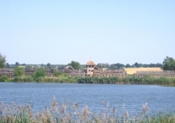 View of the Archaeological Museum in the distance