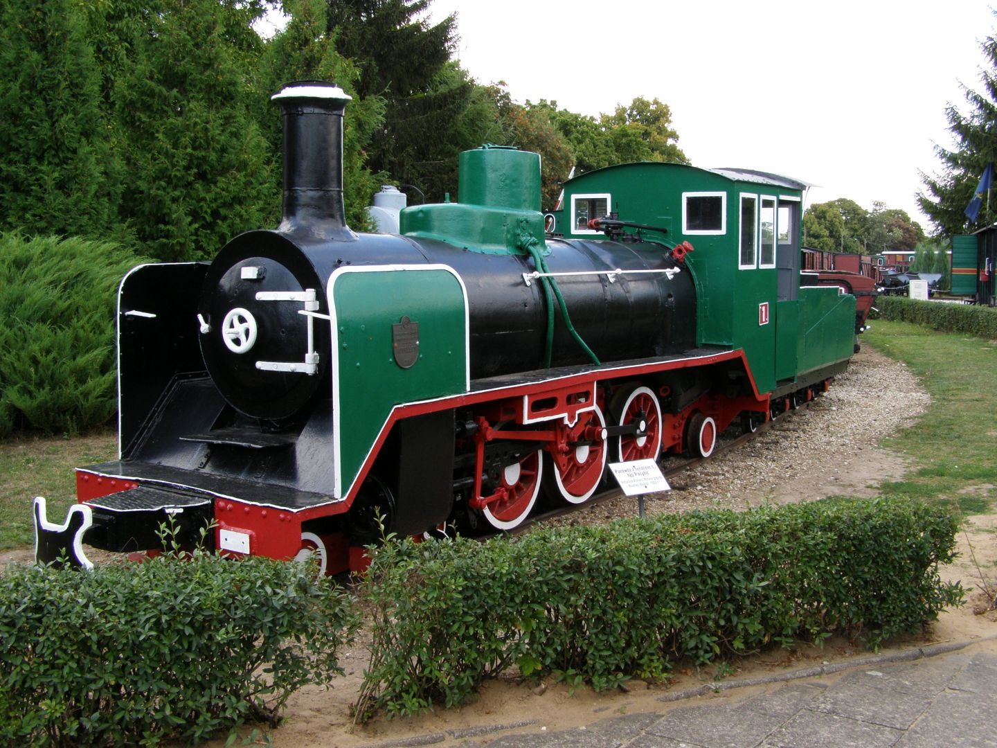 Steam locomotive with leader