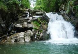 Wodospad Zaskalnik - Szczawnica