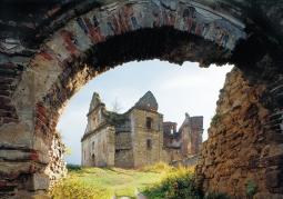 Ruiny klasztoru oo. Karmelitów Bosych - Zagórz
