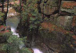 Wodospad Podgórnej - Przesieka