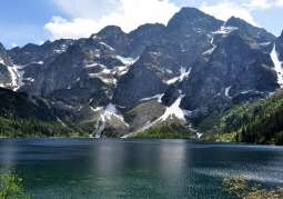 Morskie Oko from the hostel side