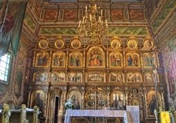 Ikonostas cerkwi w Kwiatoniu
