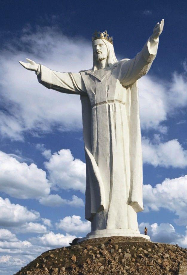 Rzeźba Chrystusa Króla