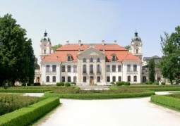 The Zamoyski Museum and palace and park complex in Kozłówka - Kamionka