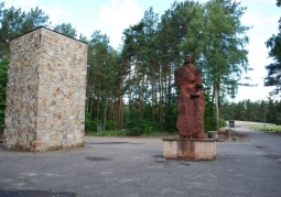 Memorial to the victims of the camp