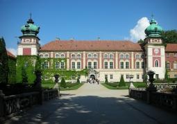 Front zamku Lubomirskich