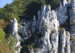 Platforma widokowa przy wejściu do jaskini