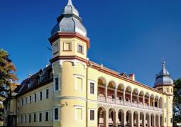 Barokowy pałac w Krobielowicach