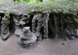 Panorama jaskini mechowskiej