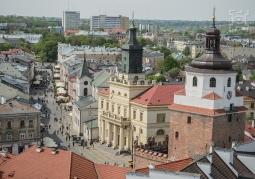 Widok na miasto z Wieży Trynitarskiej