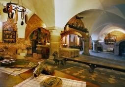 Wnętrze Zamku w Malborku