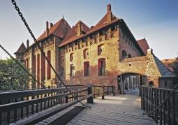 Gotycki Zamek Krzyżacki św. Marii - Malbork