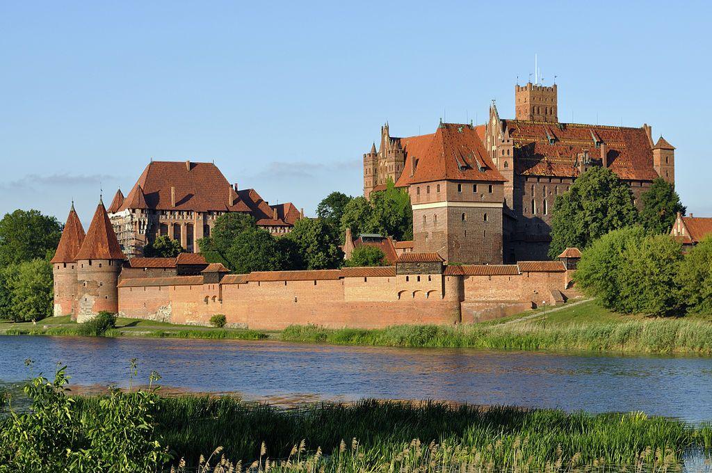 Gotycki Zamek Krzyżacki św. Marii